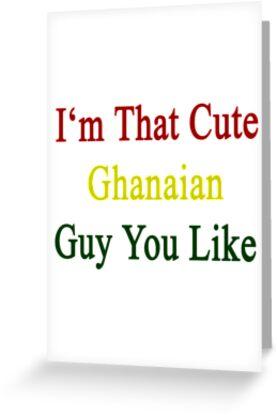 I'm That Cute Ghanaian Guy You Like by supernova23