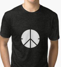 Universal Unbranding - Peace and War Tri-blend T-Shirt
