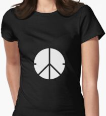 Universal Unbranding - Peace and War Women's Fitted T-Shirt
