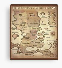 Fantasy Lands Canvas Print
