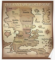 Fantasy Lands Poster