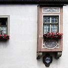 Windows at the Abbey of Andechs, Bavaria by Bine