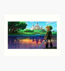 Zelda!! Art Print