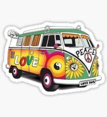 Hippy Van Sticker Sticker