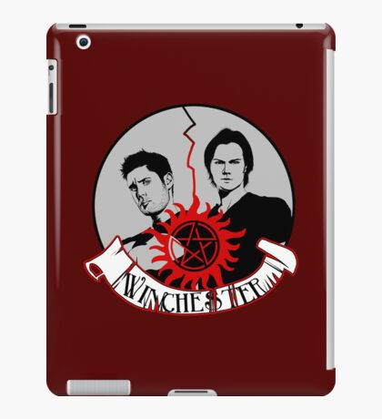 Winchester Brothers iPad Case/Skin