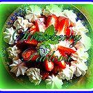 Strawberry Pavlova by ©The Creative  Minds