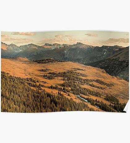 Tundra Sunset Poster