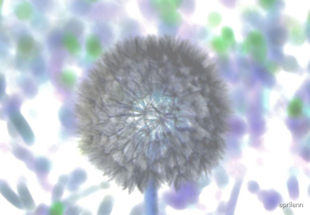 Pastel Dandelion by aprilann