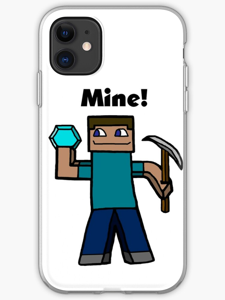 coque iphone 8 minecraft steve
