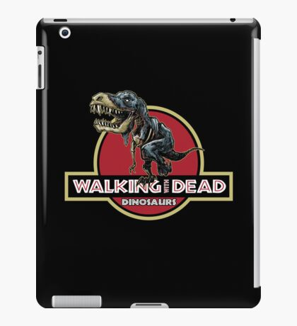 Walking With Dead Dinosaurs iPad Case/Skin