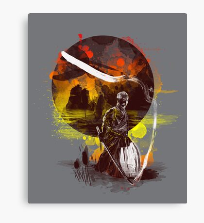 ink kata Canvas Print