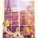 A Window to Paris by AliciaMB