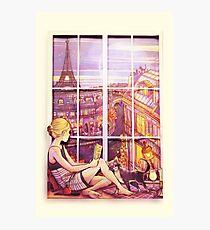 A Window to Paris Photographic Print