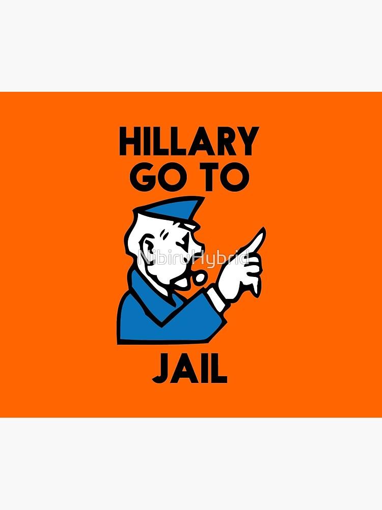 Hillary Clinton ins Gefängnis gehen von NibiruHybrid