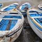 Boats-Capri by Christopher Clark