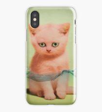 kitten tears 02 iPhone Case