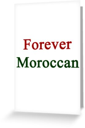 Forever Moroccan by supernova23
