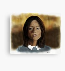 Face the Raven Canvas Print