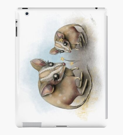 blossom buddies iPad Case/Skin