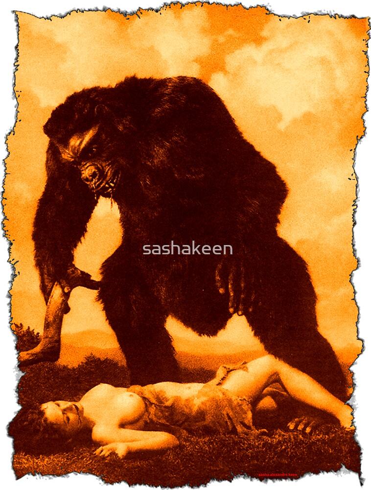 Monkey Love by sashakeen