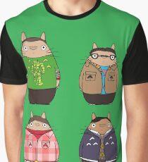 Big Bang Totoro Graphic T-Shirt