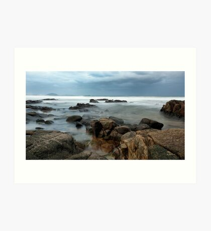 Mists of Mooloolaba Art Print