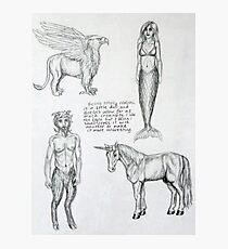 Sketchbook item 1 Photographic Print