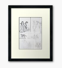 Sketch Book item 4 Framed Print