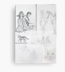 Sketch Book item 4 Canvas Print