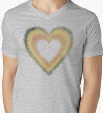 Retro Heart Men's V-Neck T-Shirt