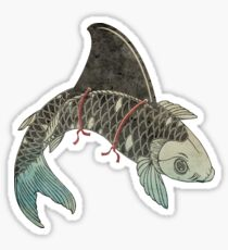 Koi Shark Fin Sticker