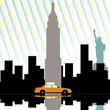 New York New York.  by mrkyleyeomans
