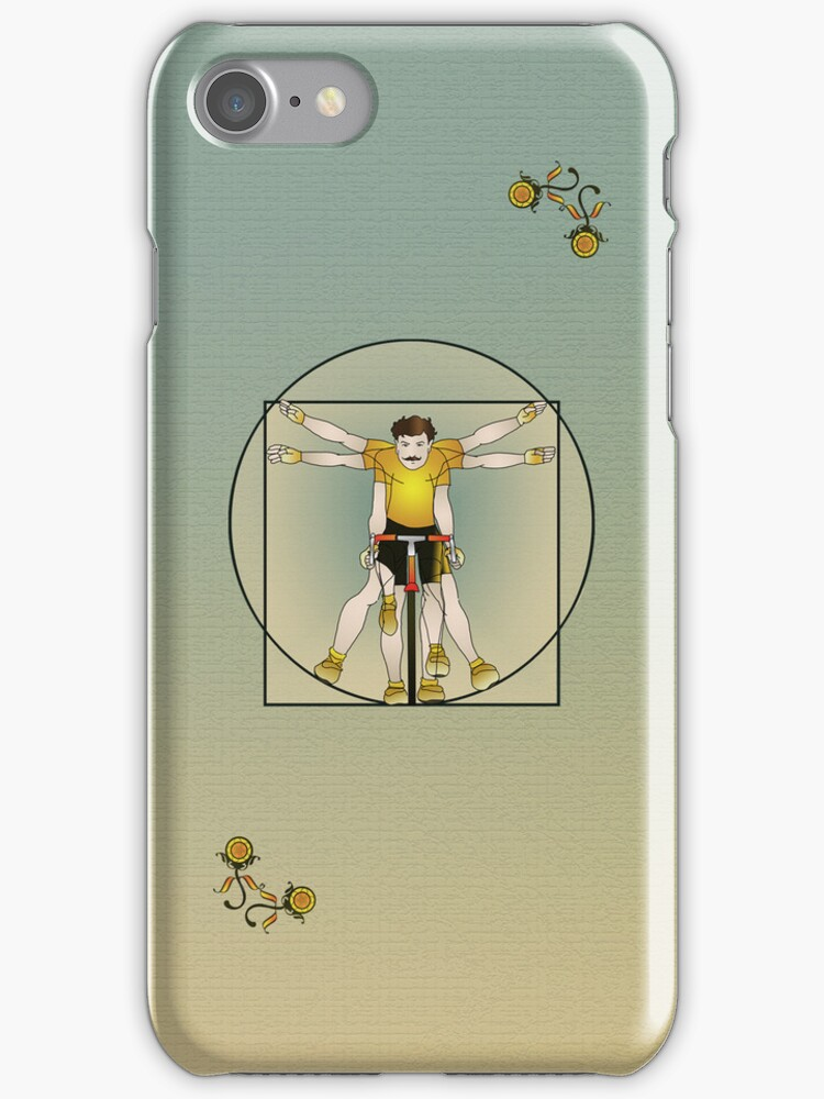 Vitruvian Cyclist by SlackersPeloton