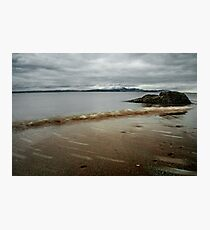 Muted Seamill Beach Photographic Print