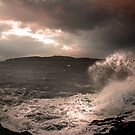 Portencross Storm 3 by George Crawford