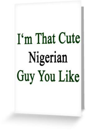 I'm That Cute Nigerian Guy You Like by supernova23