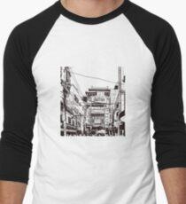 Yokohama - China town Men's Baseball ¾ T-Shirt