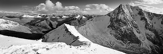 Ben Nevis North Face by Justin Foulkes
