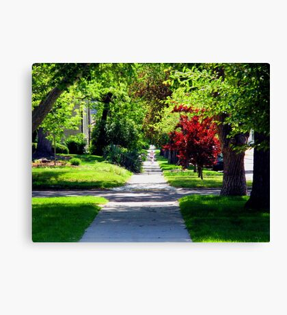 Follow Your Dreams-The Road is Endless Canvas Print