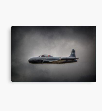Canadair CT-133 Silver Star Canvas Print