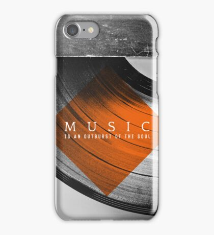Outburst iPhone Case/Skin