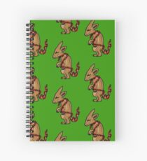 Kanga's Christmas Spiral Notebook