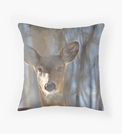 They Call Me Number 5 Throw Pillow
