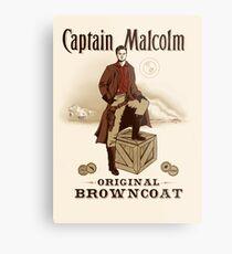Captain Malcolm  Metal Print