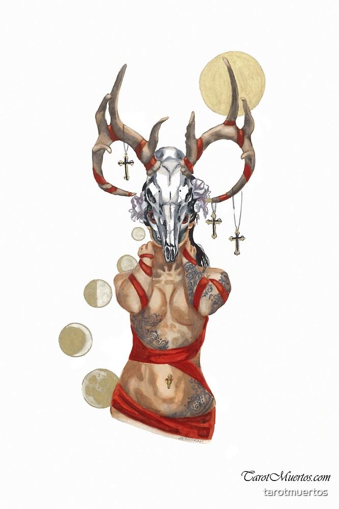 The Devil - El Diablo -- Tarot by tarotmuertos