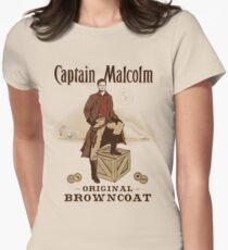 Captain Malcolm  Womens Fitted T-Shirt