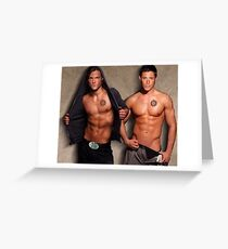 Supernatural - Sam & Dean Greeting Card