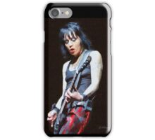 Joan Jett iPhone Case/Skin