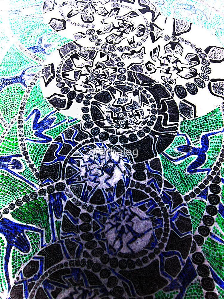 Blue Blooded Ladies by grarbaleg