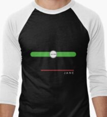 Jane station Men's Baseball ¾ T-Shirt